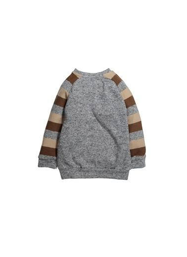 Zeyland Yaka Çıtçıtlı Melanjlı Sweatshirt (12ay-4yaş) Yaka Çıtçıtlı Melanjlı Sweatshirt (12ay-4yaş) Gri